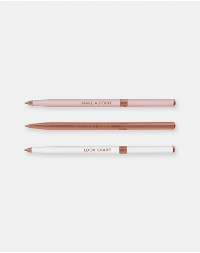 Ted Baker - Set of 3 Ballpoint Pens