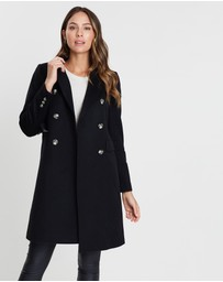 Cable Melbourne - Windsor Wool Double-Breasted Coat
