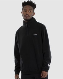 WNDRR - Nozawa 1/2 Zip Polar Fleece Sweat