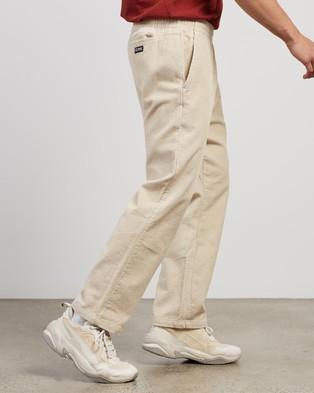 Stussy Cord Corp Beachpants - Pants (White Sand)