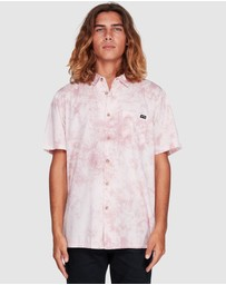 Billabong - Sundays Tie Dye Short Sleeve Shirt