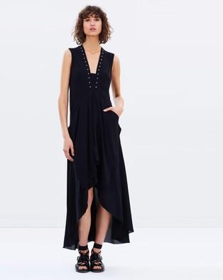 KITX – Embrace Puzzle Dress Black