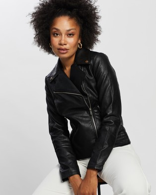 Dorothy Perkins Biker Jacket - Coats & Jackets (Black)