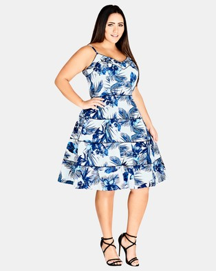 City Chic – Hawaii Dress – Printed Dresses Hawaii