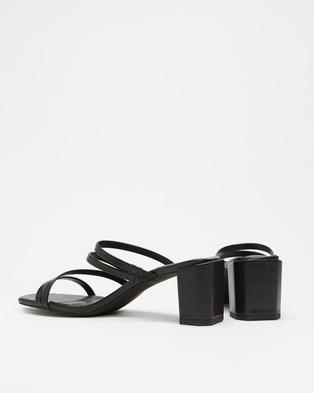 Dazie - August Heels Mid-low heels (Black Lizard)