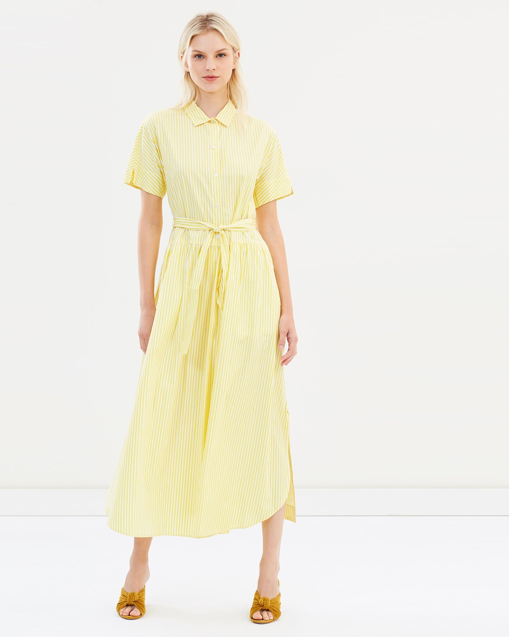 Weekend Max Mara Mirra Dress Dresses Lemon Mirra Dress