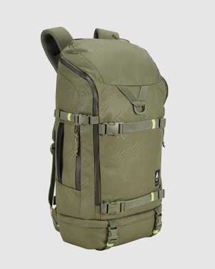 Nixon Hauler 35L Backpack - Backpacks (Olive Dot Camo)
