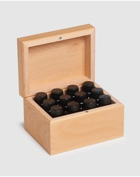ECO. Modern Essentials - ECO. Wooden 12 Essential Oils Box