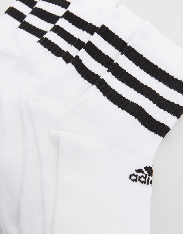 Women 3-Stripes Cushioned Crew Socks 3-Pack