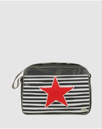 Bobbleart - Large Overnighter Star and Stripe Bag
