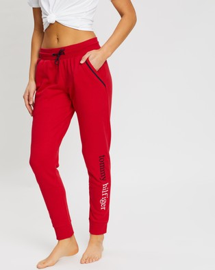 Tommy Hilfiger Tommy Remix Pants - Sweatpants (Tango Red)