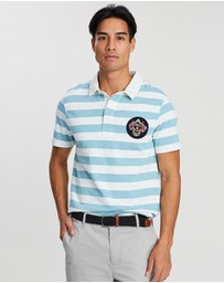 Kent and Curwen - Two-Tone Striped Polo