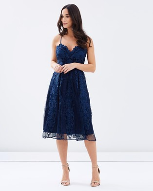 Grace & Hart – Regal Beauty Fit and Flare Dress