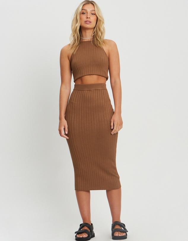 Women Laguna Knit Skirt