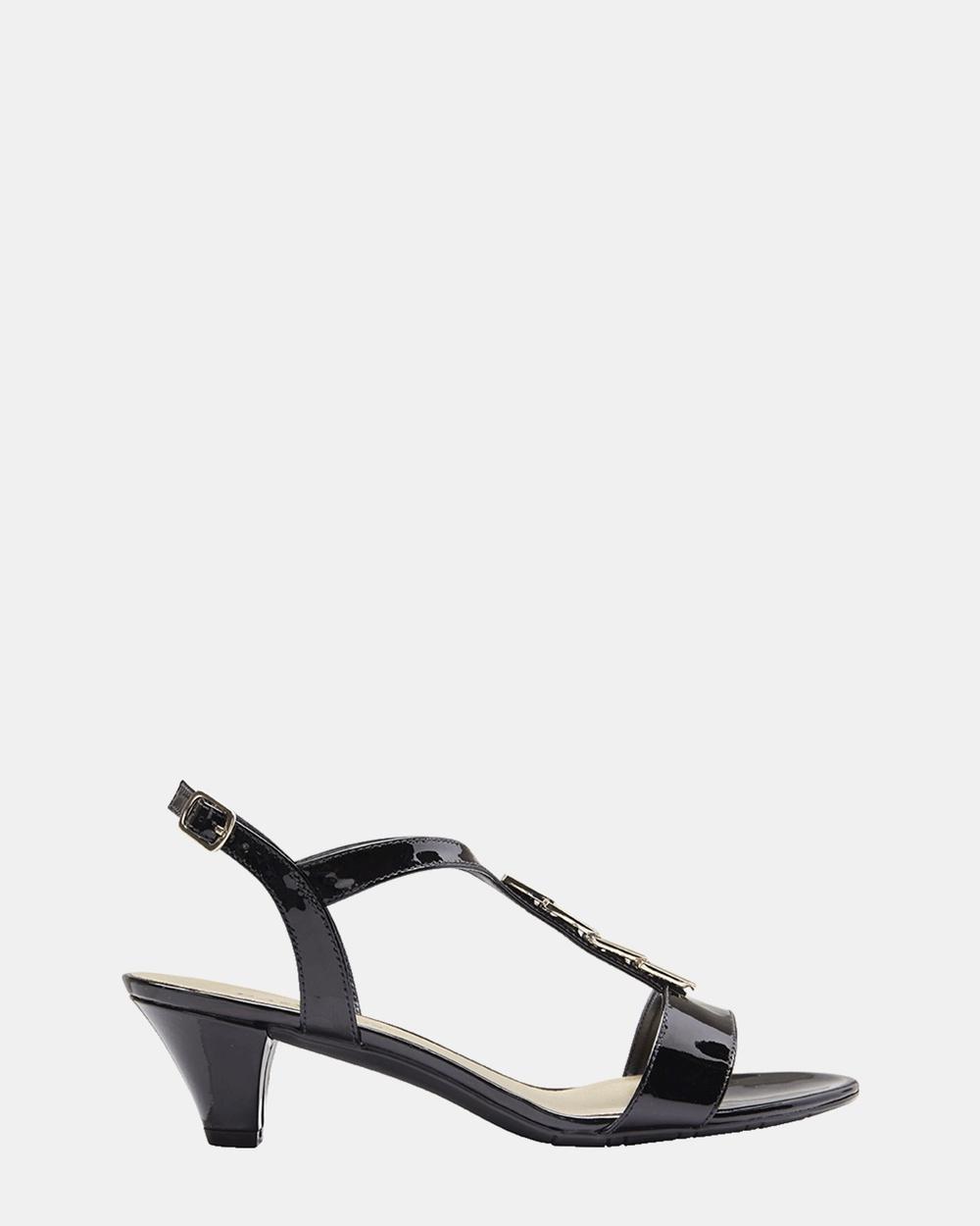 Easy Steps Elope Heels Black Elope Shoes Online Shopping
