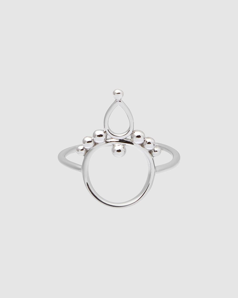 Pastiche Bamboo Ring Jewellery Silver