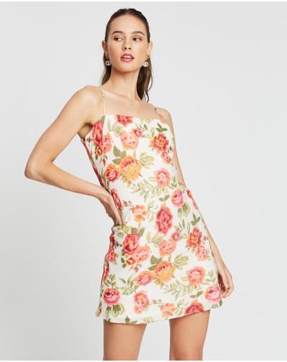 Winona Rosa Slip Dress Print