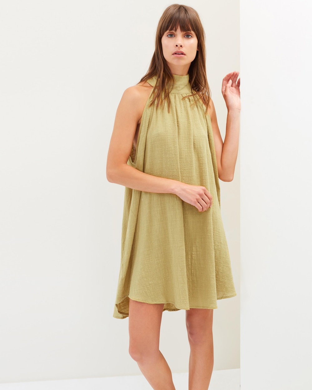 Girl & The Sun Harbour Tunic Dress Dresses Beige Harbour Tunic Dress