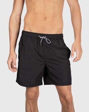 Coast Clothing ASR Swim Shorts - Swimwear (Black)
