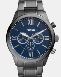Fossil - Flynn Smoke Chronograph Watch
