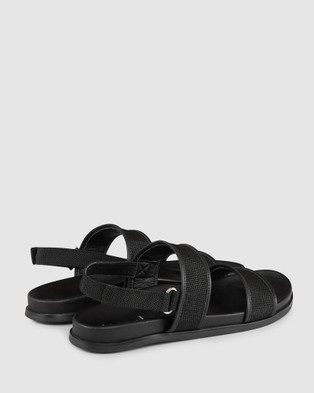 Aquila Sierra Sandals - Slides (Black)