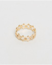 Natalie Marie Jewellery - ICONIC EXCLUSIVE - Dotted Amora Cuff Ring