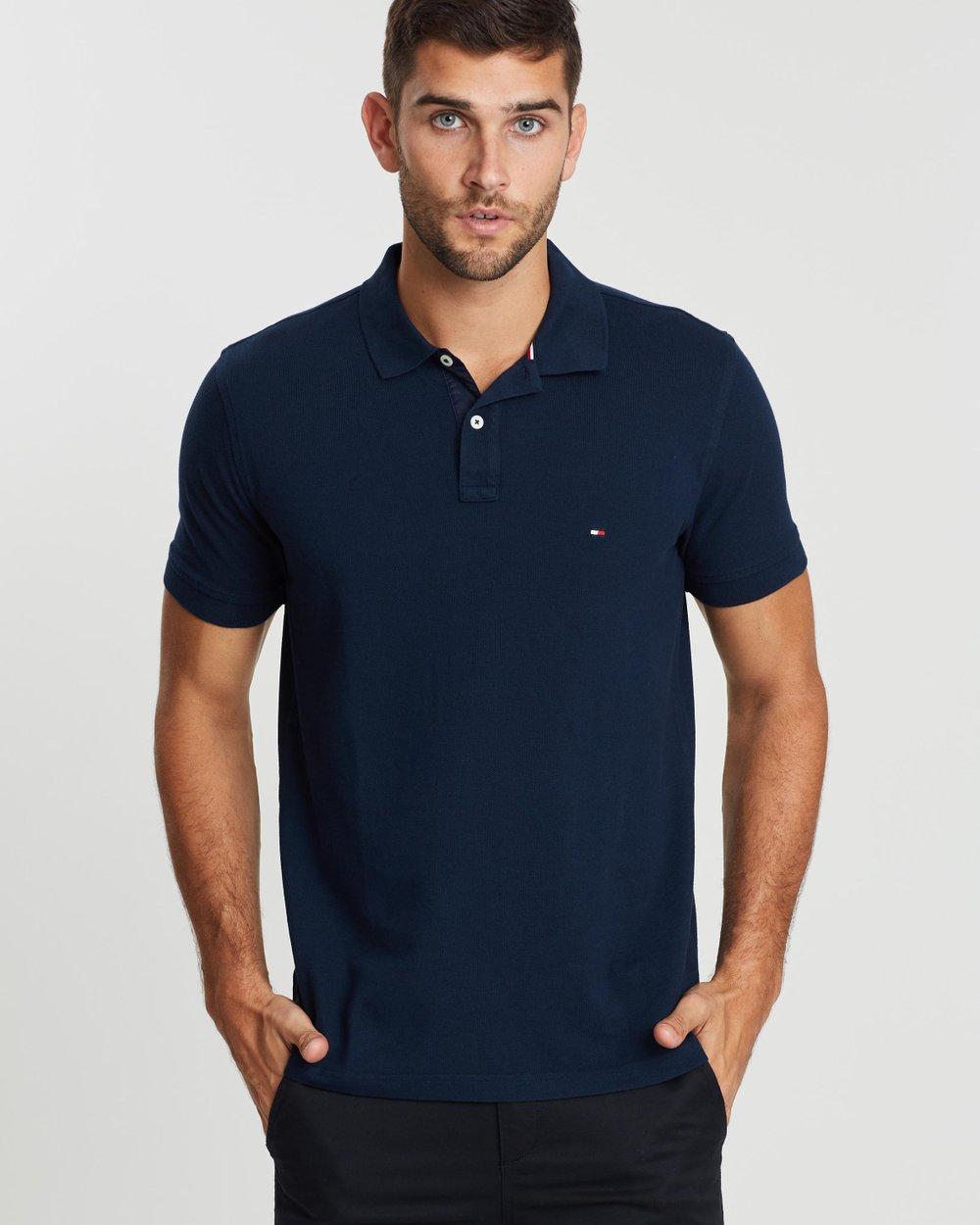 47a7120b560ede WCC Back Logo Regular Polo Shirt by Tommy Hilfiger Online