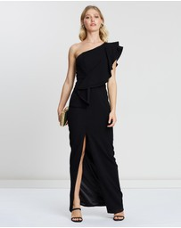 Montique - Mila One-Shoulder Gown