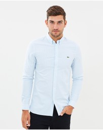 Slim Stretch Oxford Stripe Shirt