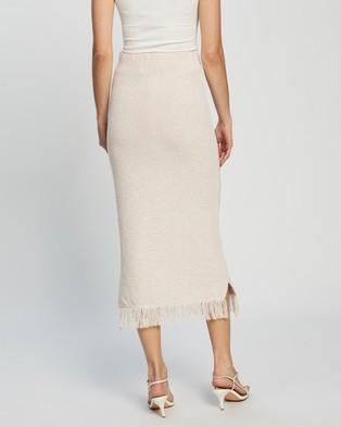 Atmos&Here Milana Midi Skirt - Pencil skirts (Beige)