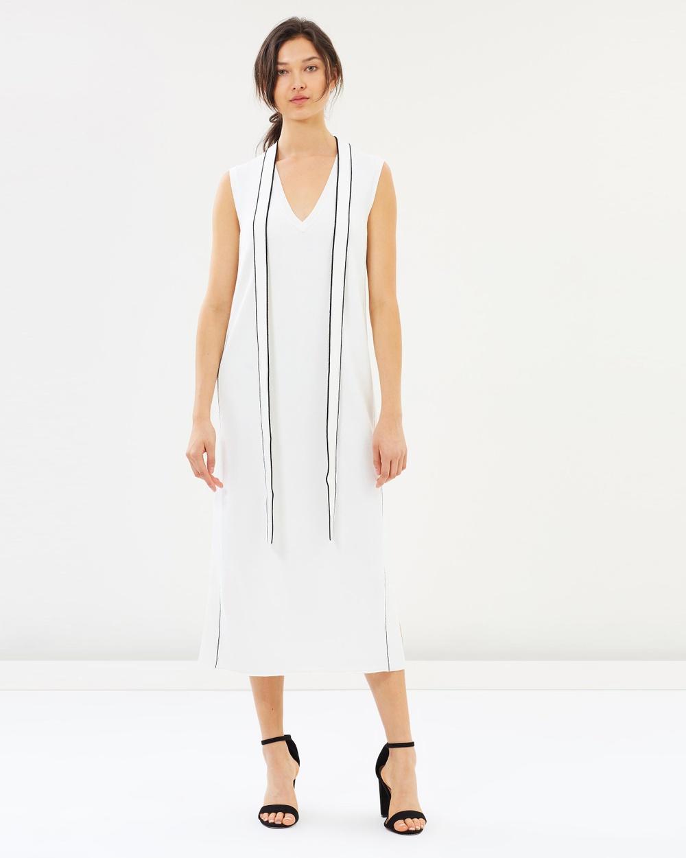House of Dagmar Off-White Hiro Dress