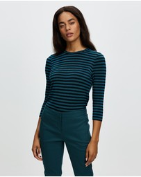 Marcs - Laurel Lurex Stripe Tee