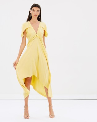KITX – True Wonder Dress – Bridesmaid Dresses Lemon