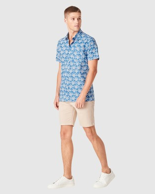 French Connection Palms Regular Fit Shirt - Casual shirts (COBALT)