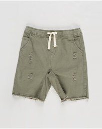 Free by Cotton On - Street Slouch Shorts - Teens