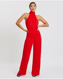 Bianca and Bridgett - Scarlet Jumpsuit