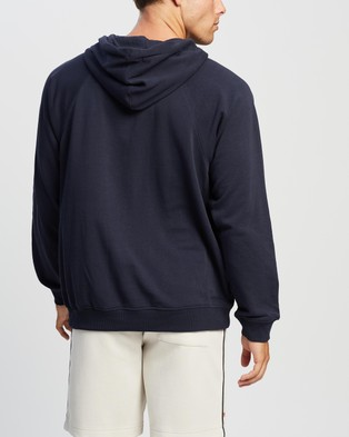 Champion French Terry Script Hoodie - Hoodies (Navy)
