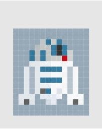 IXXI - Wall Art Star Wars R2D2 Pixel