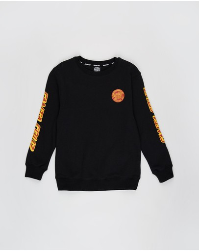 Santa Cruz - MFG Dot Crew Fleece Sweater - Teens