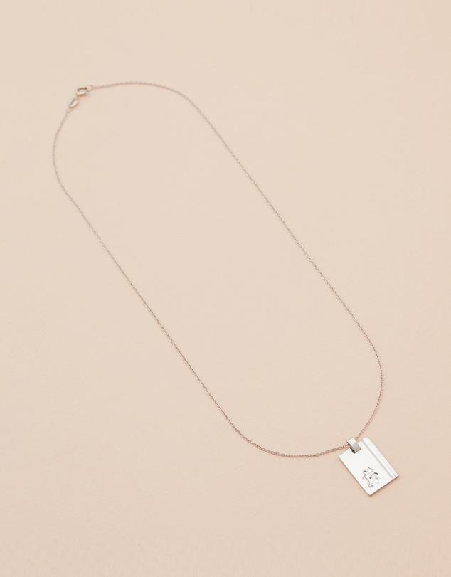 Women Sagittarius Sterling Silver Star Sign Necklace