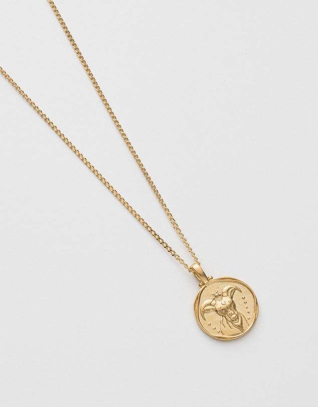 Women Capricorn Zodiac Necklace
