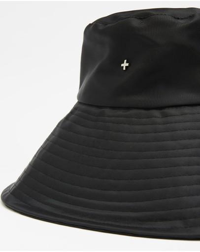 Peta And Jain Bryton Wide Brim Hat Black