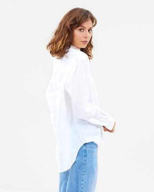 Assembly Label Xander Long Sleeve Shirt - Tops (White)