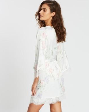Homebodii Sofia Floral Robe - Sleepwear (Pink Floral)