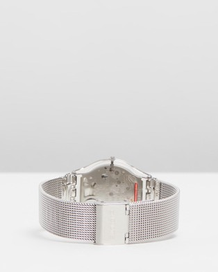 Swatch - METAL KNIT Watches (Silver)