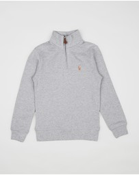Polo Ralph Lauren - Half-Zip Supima Knit LS Pullover- Kids
