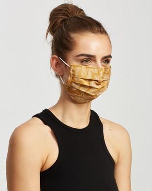M.N.G Face Mask   2 Pack - Face Masks (Medium Yellow)