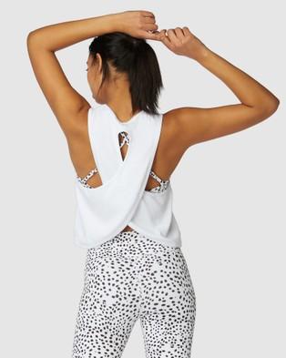L'urv Infinite Tank - T-Shirts & Singlets (White)