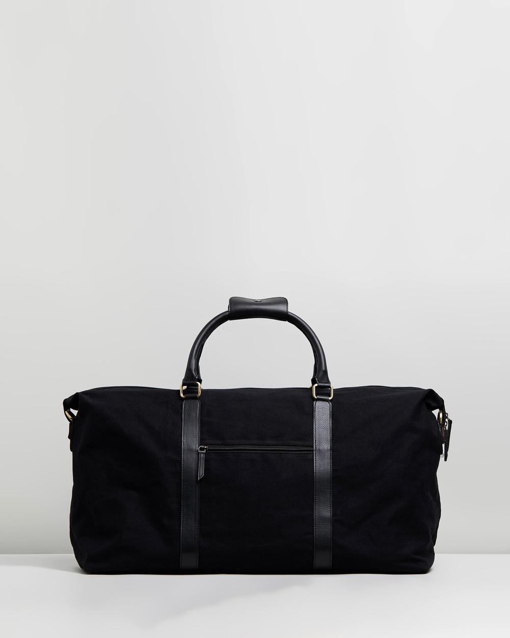Staple Superior Downtown Weekender Duffle Bags All Black