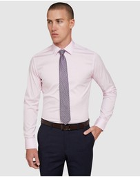Oxford - Pink Stretch Travel Shirt
